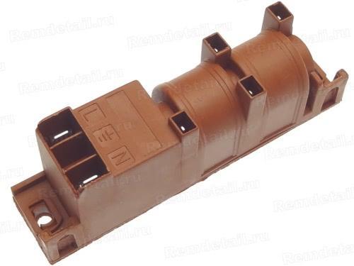 Блок розжига для газовой плиты 4 свечи MC1401W